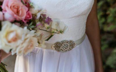 Summer Photo Shoot: Gemma wedding dress by Rachel Lamb Design
