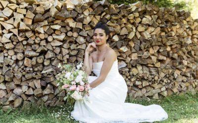 Summer Photo Shoot: Simple Bridal Separates by Rachel Lamb Design