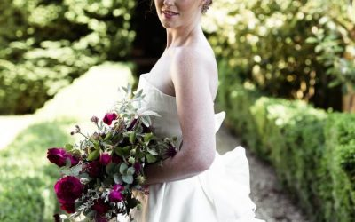 Summer Photo Shoot: Shea Wedding Dress by Rachel Lamb Design
