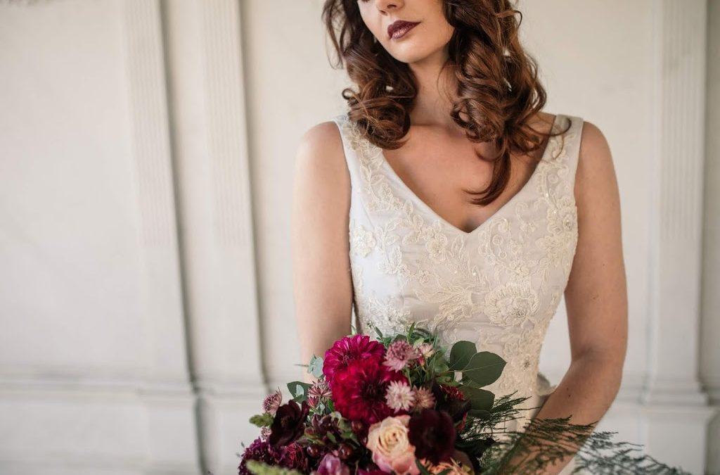 Winter Luxe Wedding Ideas Styled Shoot