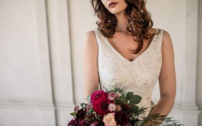 Winter Luxe Wedding Ideas Styled Shoot
