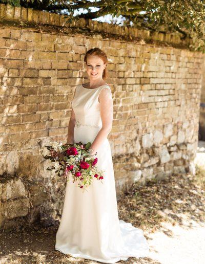 regan made to measure wedding dress by rachel Lamb