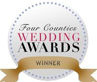 four counties wedding awards winner