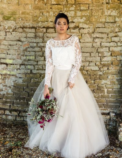 made to measure bridal wear