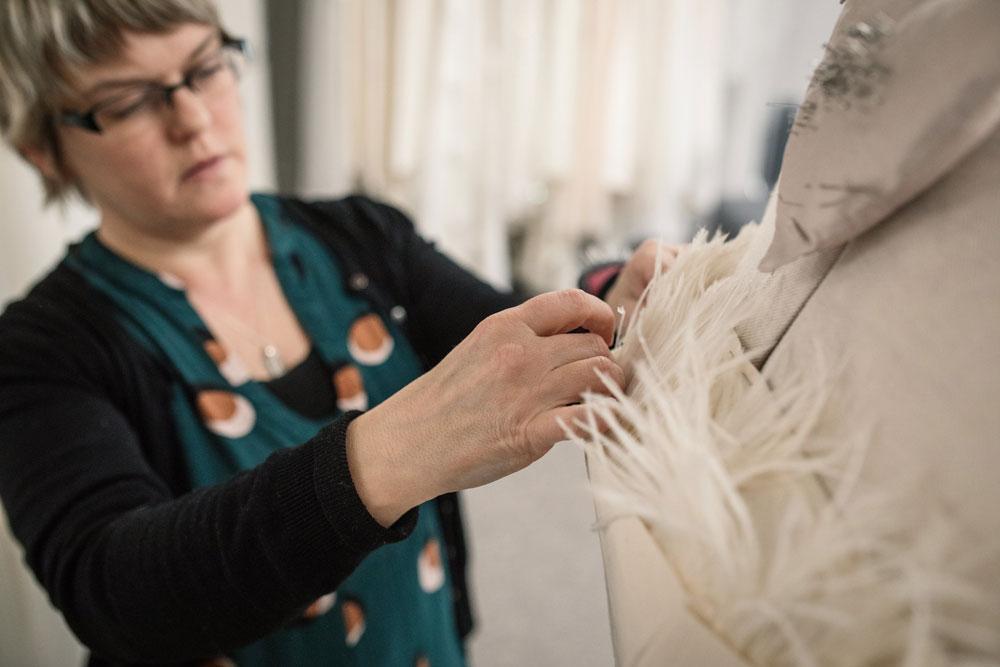 rachel lamb dress making